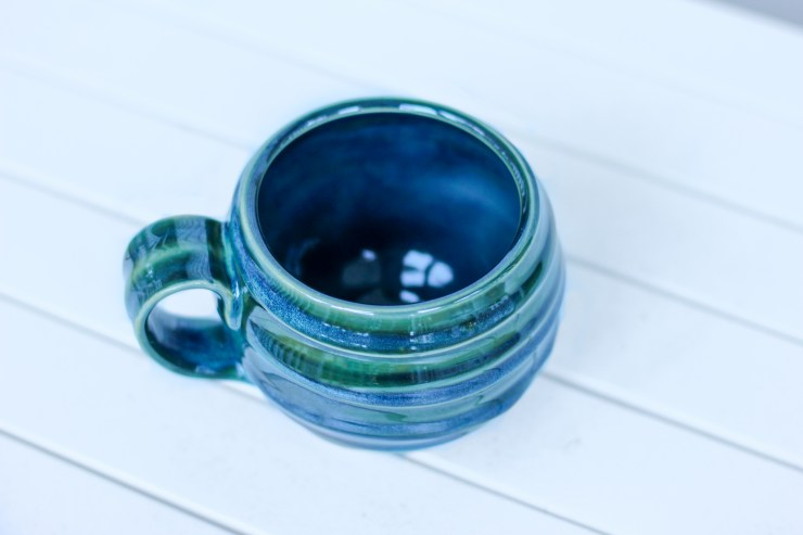 handmade and hand glazed ceramic mug, shop small business, jake ford ceramics