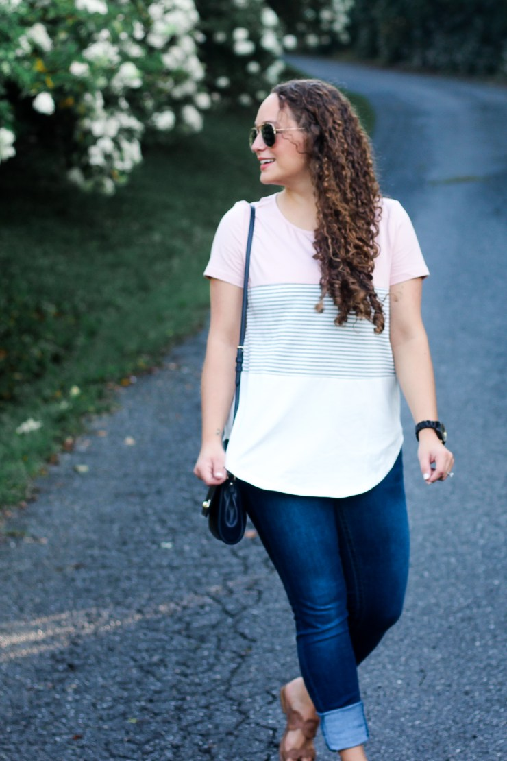 basic tee, affordable style