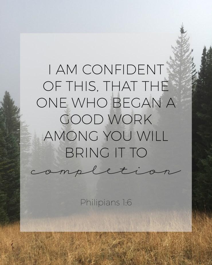 philippians 1:6, faith and religion,