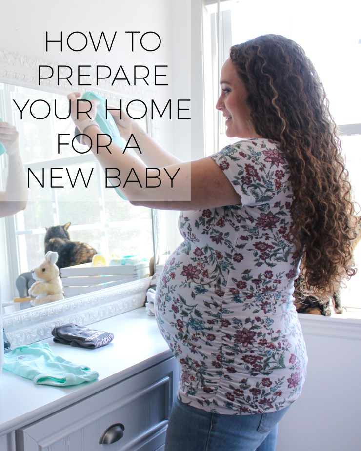 How to Prepare Your Home for a New Baby with #allfreeclearclean @Collectivebias @ad