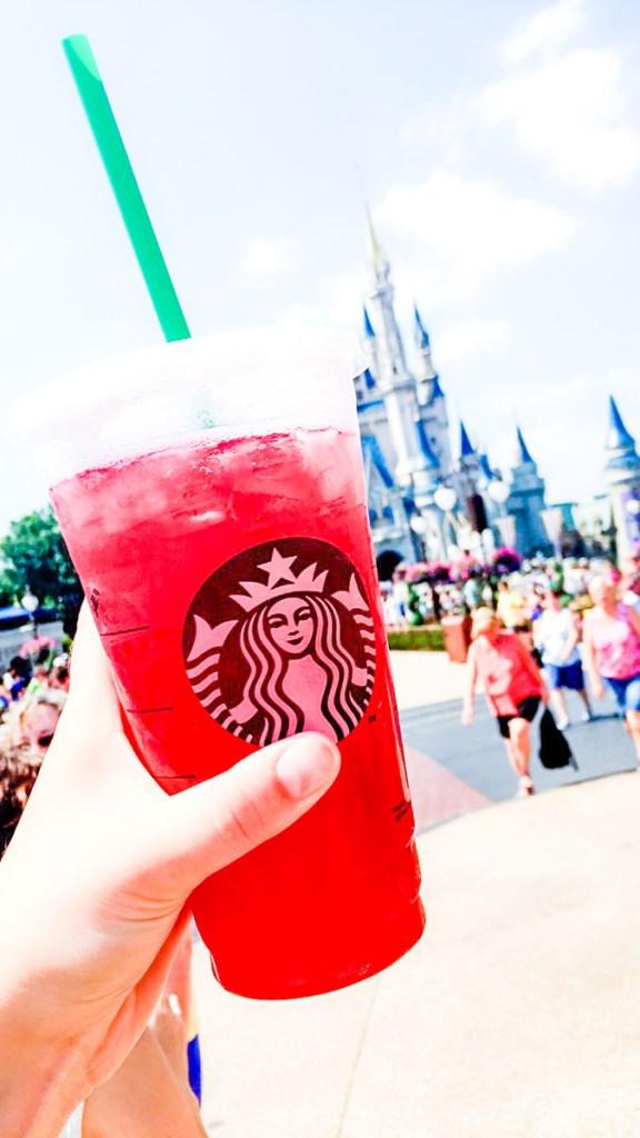 Starbucks at Magic Kingdom!