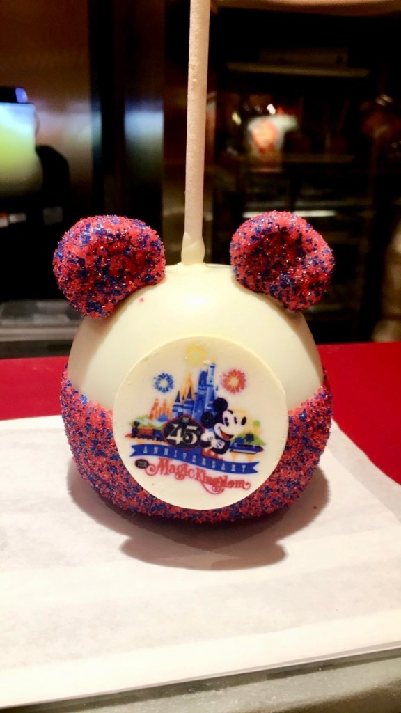 Candy Apple from Disney World