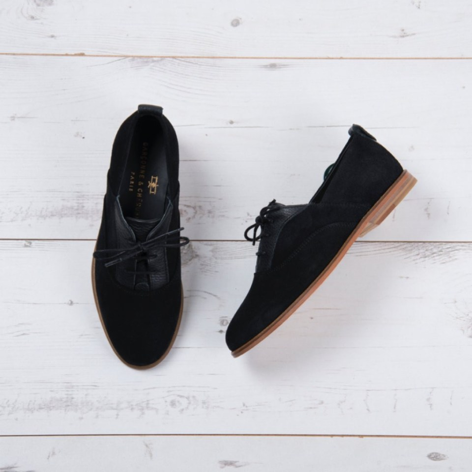 garconne et cherubin, chaussures, leather