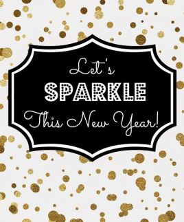 let s sparkle this new year