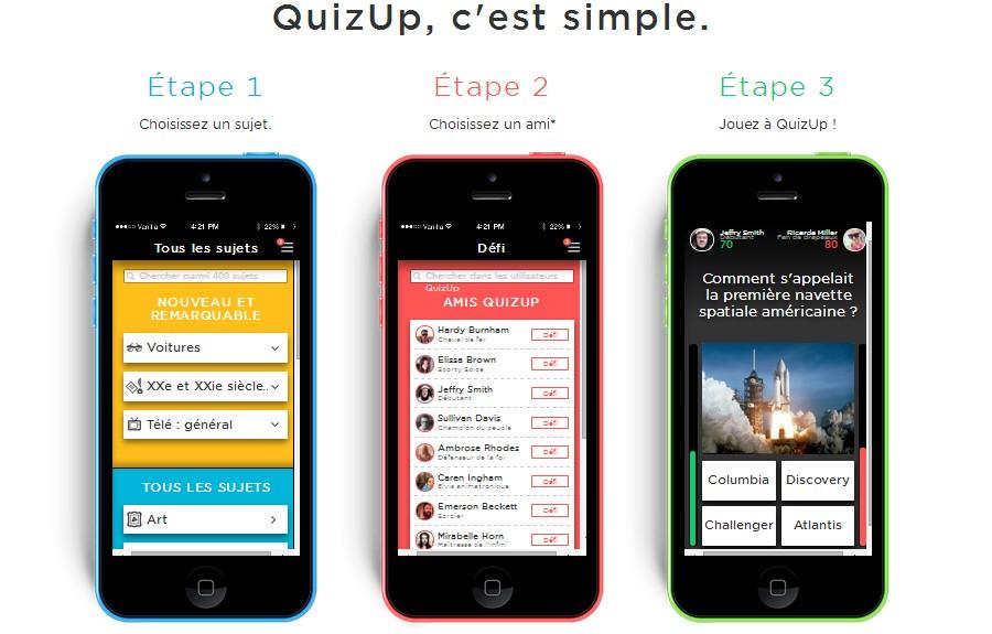 quizup, application, caputre ecran, duel, niveau, experience, profil2