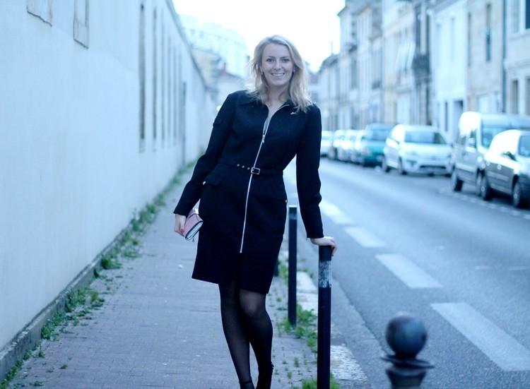 robe manteau thierry mugler pochette escarpins zara vernis dior 16