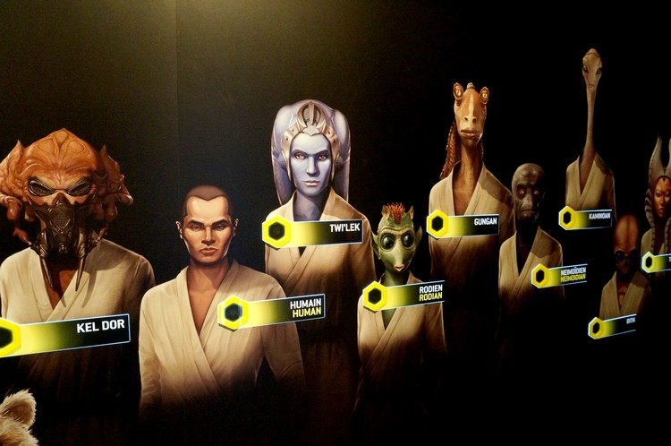star wars exposition identities avatar race