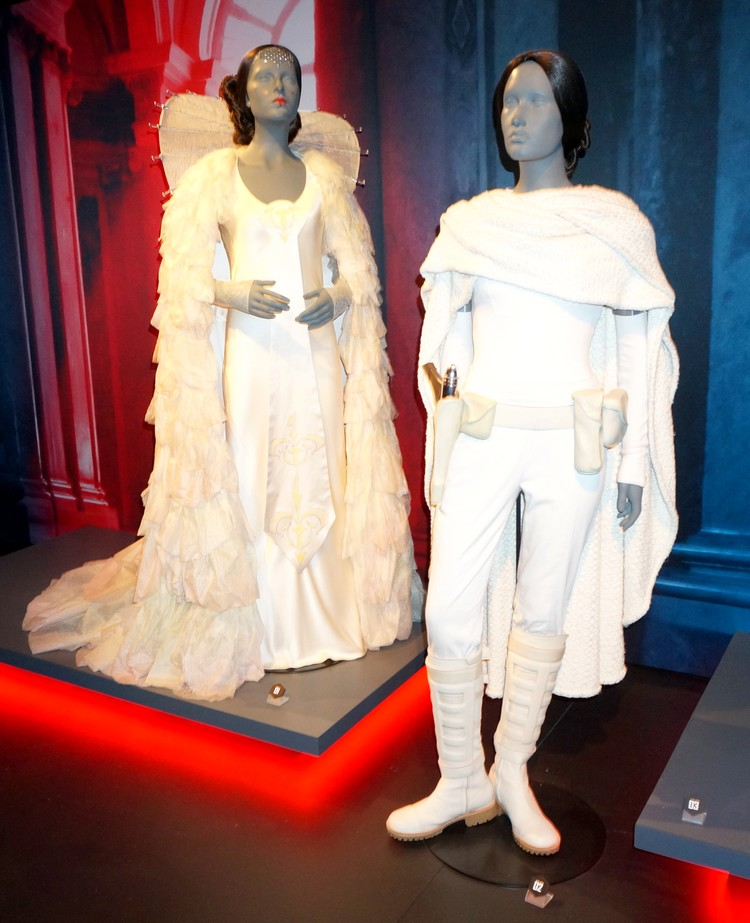 star wars exposition identities princesse amidala padme