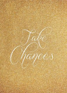 take chances nouvel an