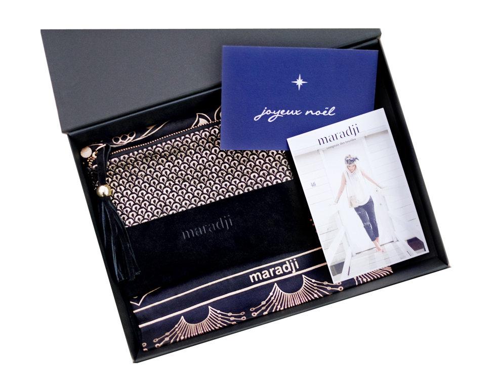 maradji, foulard, pochette
