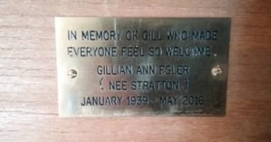 Gill Esler memorial