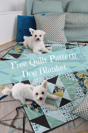 Free Quilt Pattern Dog Blanket