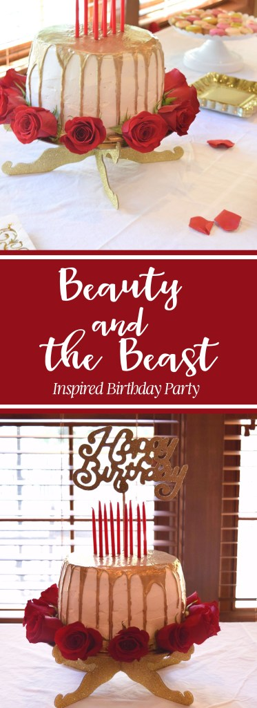 Beauty and the Beast Inspired Birthday Party - DarlingSouth.com
