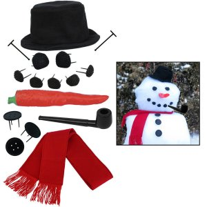 16 piece Snowman Kit on Amazon