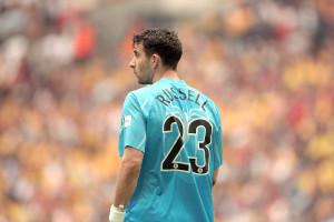 Sam Russell at Wembley