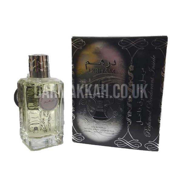 Dirham Silver Perfume with Deo - عطر درهم فضي مع مزيل العرق