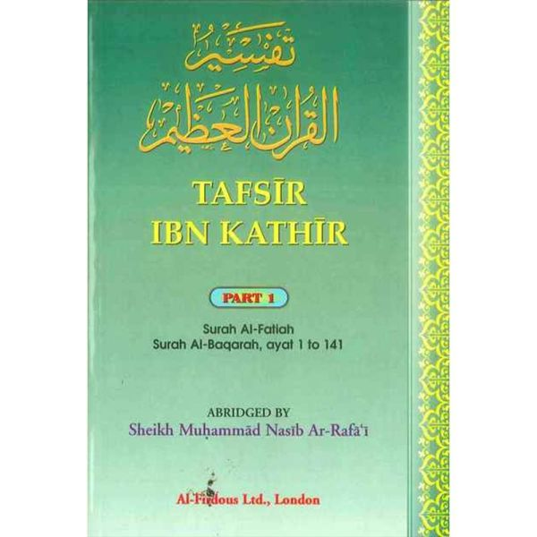 TAFSIR IBN KATHIR PART1