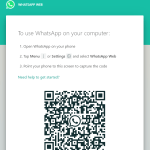 WhatsApp via Browser.
