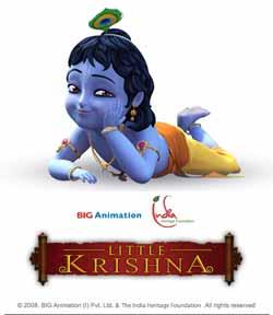 Little Krishna 1 : The Darling Of Vrindavan (DvdRip)