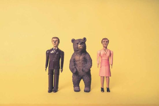 Toy Man, Woman & Bear Free Photo_Ryan McGuire