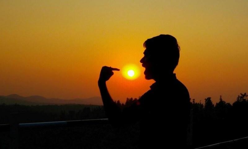 Sunrise & Sunset Store - Masking Sun With Lens - 15