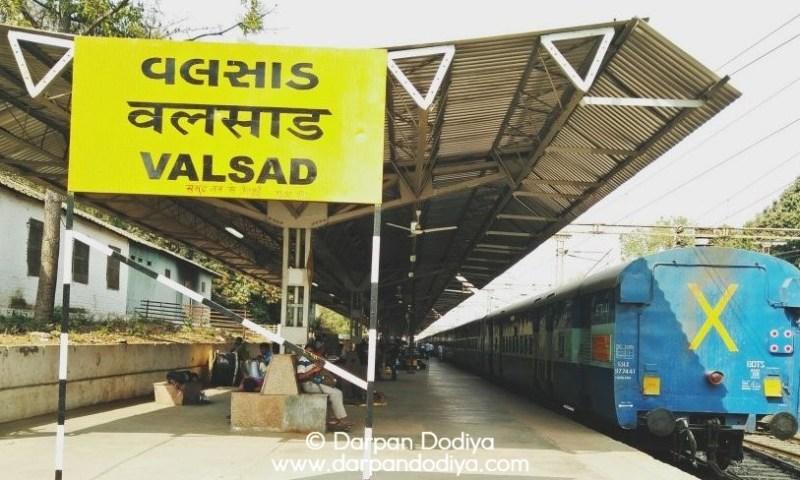 Featured Photo - Random Photo Scribblings at Valsad Railway Station