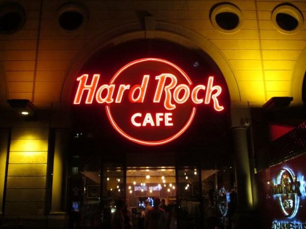 Hard Rock Cafe – Johannesburg – Eyes Wide Open