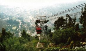 Cable car at Monserrate