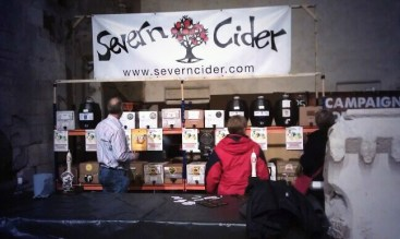 ... and the cider bar