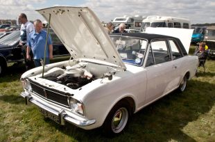 The cleanest Mark II Cortina I've ever seen!