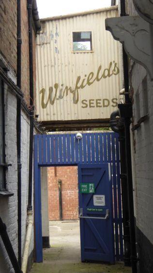 Tour around old Winfield's building/ Antique Centre