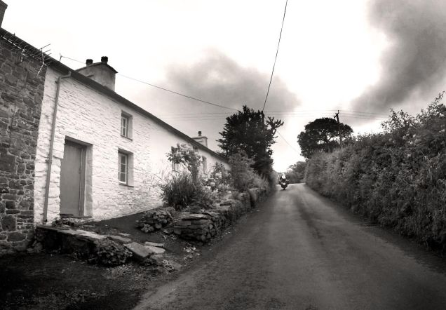 A damp ride to New Quay, Ceredigion, West Wales