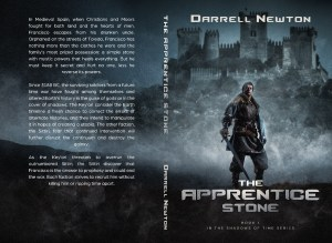 The Apprentice Stone book cover art - front and back