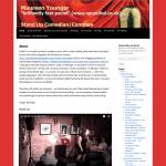 Image of original homepage