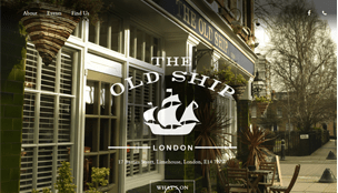 The Old Ship, E14 Website