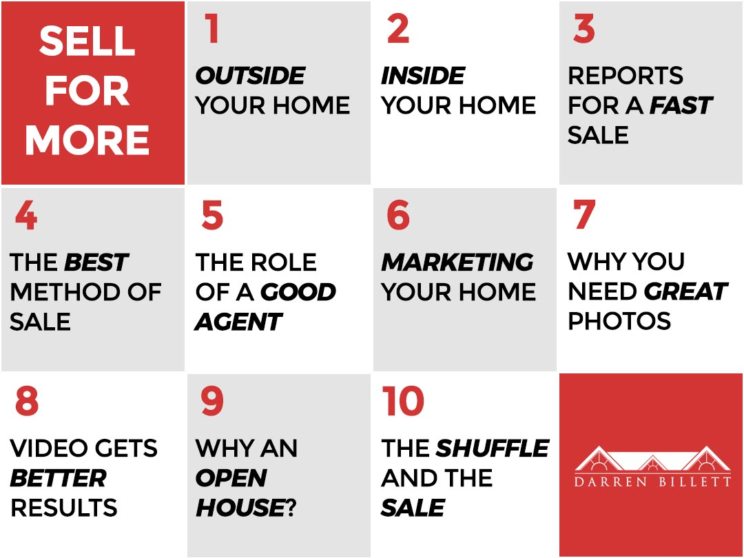 Sell for More Real Estate Course by Darren Billett