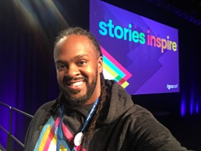 """#GCNconf's theme was """"Stories Inspire"""""""