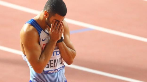 Lyles wins 200m as Gemili misses out on a medal