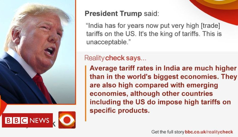 Trump India-US trade : Is Trump right about India's high tariffs?
