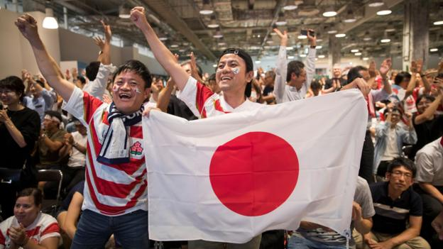 Sport Rugby World Cup: Extreme weather warning issued as typhoon approaches Japan