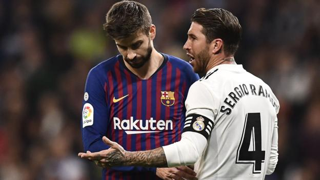 Sport La Liga want Barca v Real match switching from Nou Camp to Bernabeu over civil unrest fears