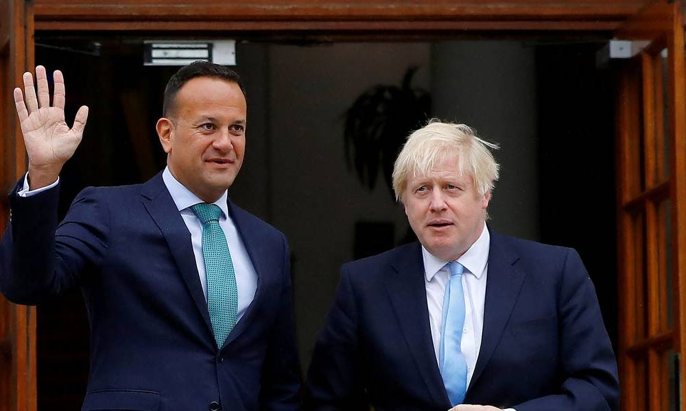 The pound is soaring on reports that UK and Irish leaders see a 'pathway' to a Brexit deal