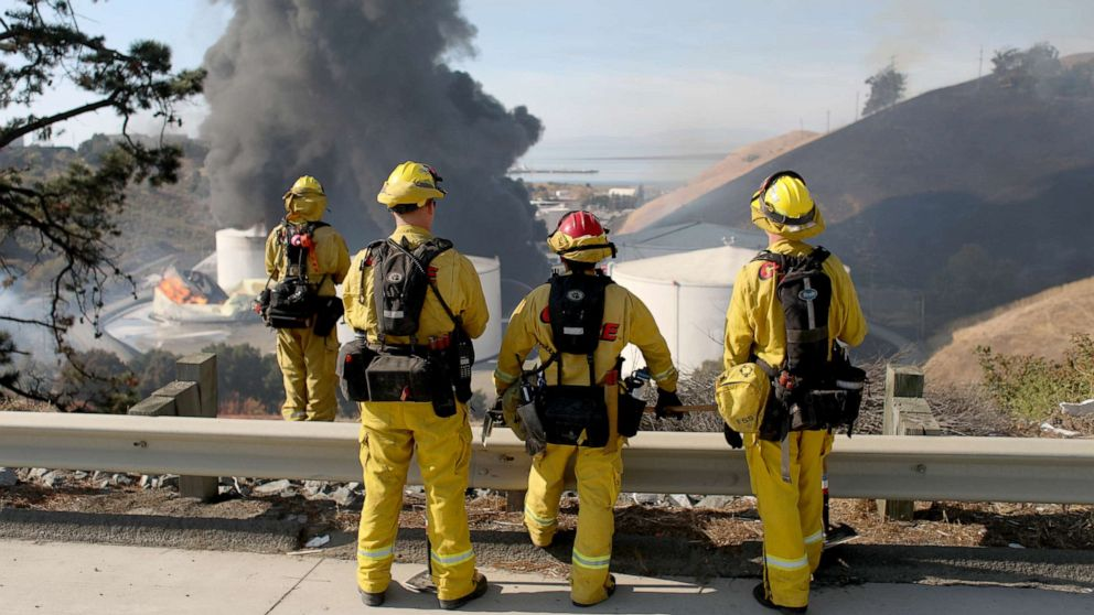 After fire erupts at California energy facility, investigators look for answers