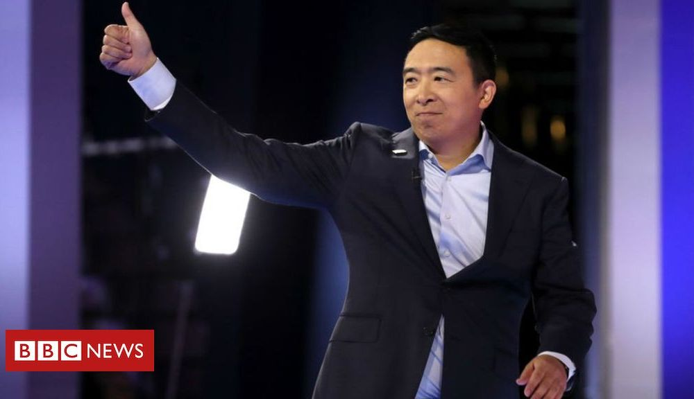 Trump Andrew Yang: The 'Asian math guy' trying to be next US president