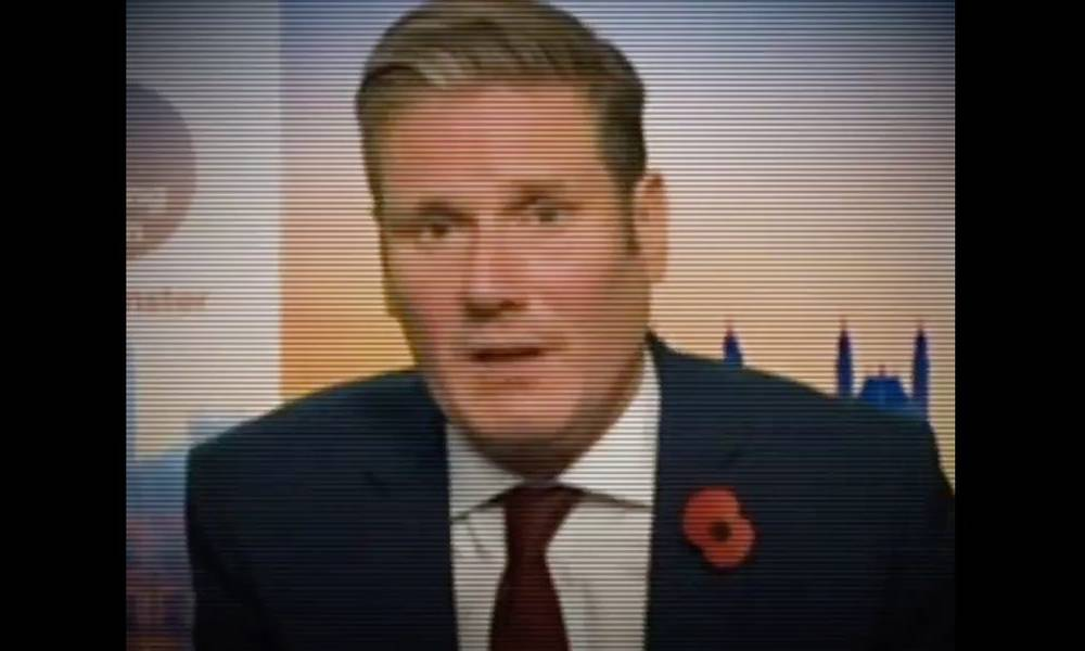 The Conservatives edit interview footage to falsely suggest Labour's Keir Starmer was left speechless by Brexit question