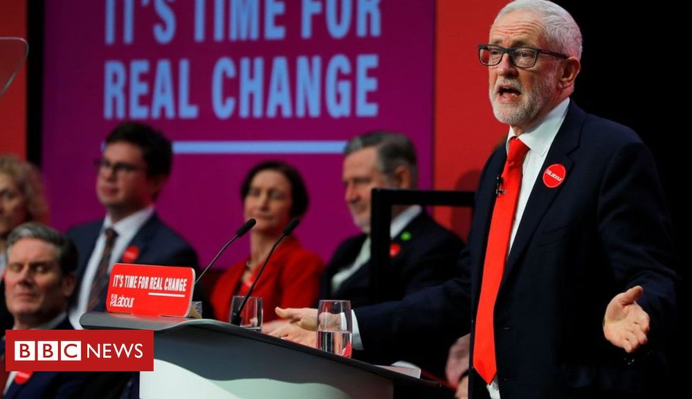 Brexit: Labour pledges new deal with no Irish Sea border