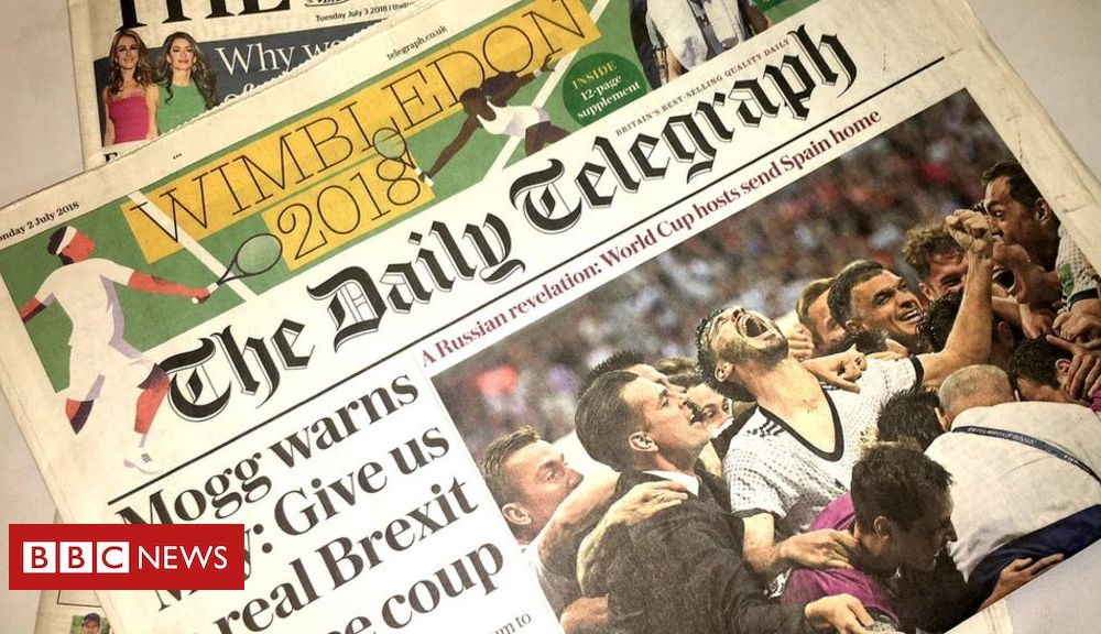 Telegraph owners to put newspapers up for sale