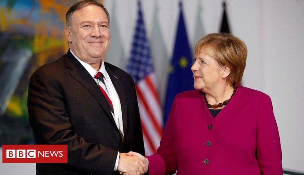 Trump Pompeo attacks Russia and China in Berlin speech