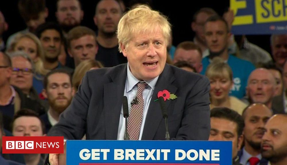 Boris Johnson: 'This parliament just refuses to get Brexit done'