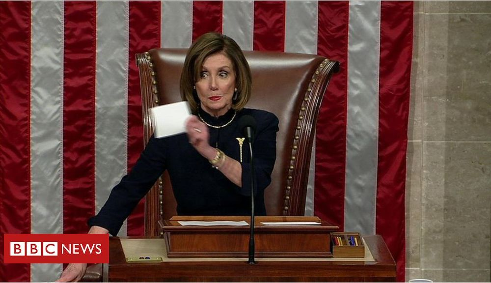 Trump WATCH: The moment US House votes to impeach Trump